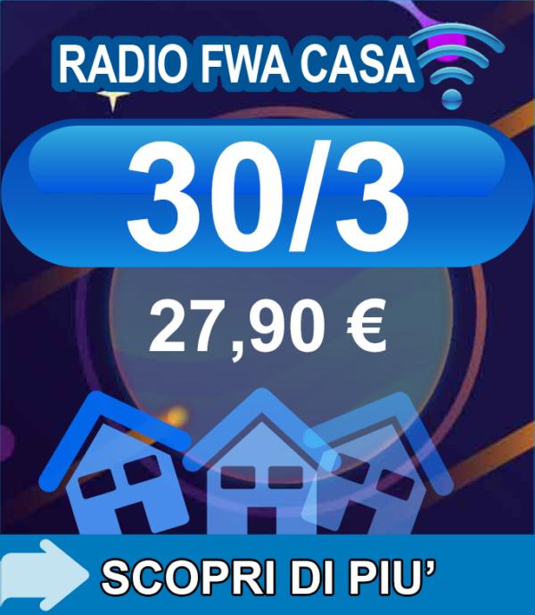 Radio FWA Casa 30/30 27,90€